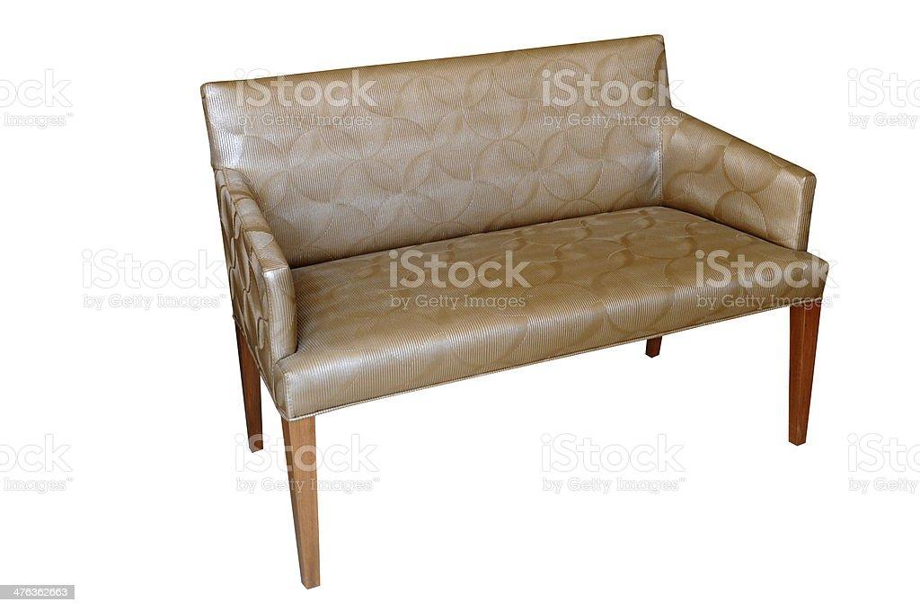Trendy armchair royalty-free stock photo