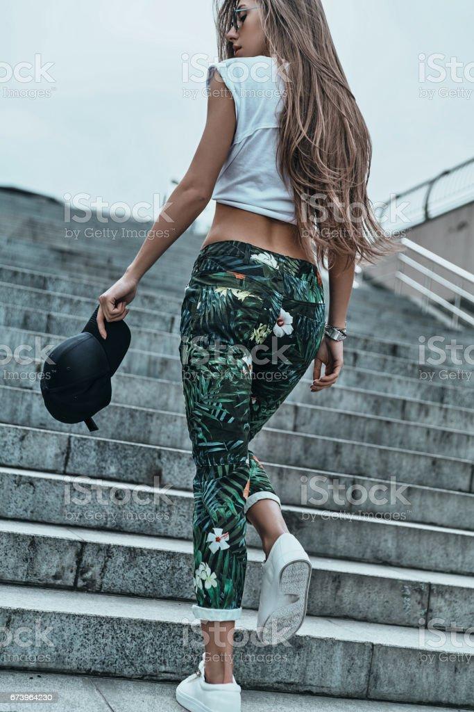 Trendy beauty. royalty-free stock photo