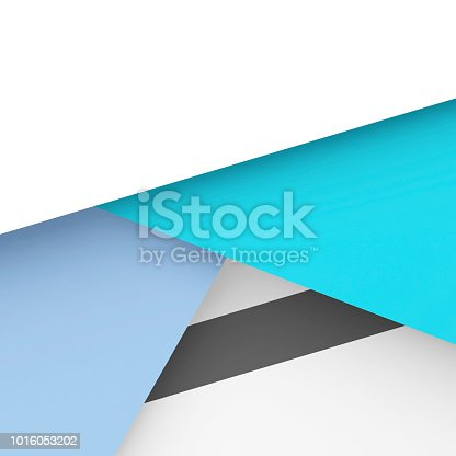 istock Trendy colorful square geometric pattern. 3d 1016053202