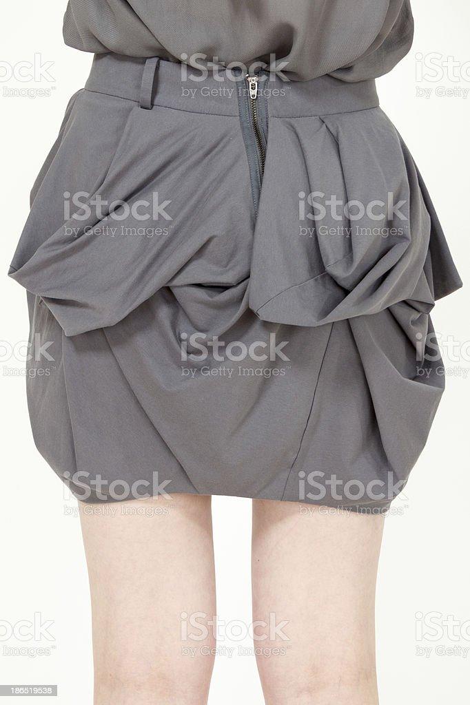 Trendy fashion skirt royalty-free stock photo