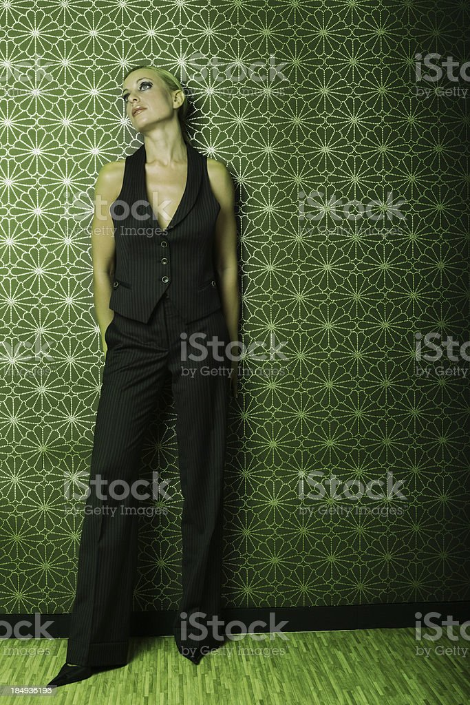 Trendy girl royalty-free stock photo