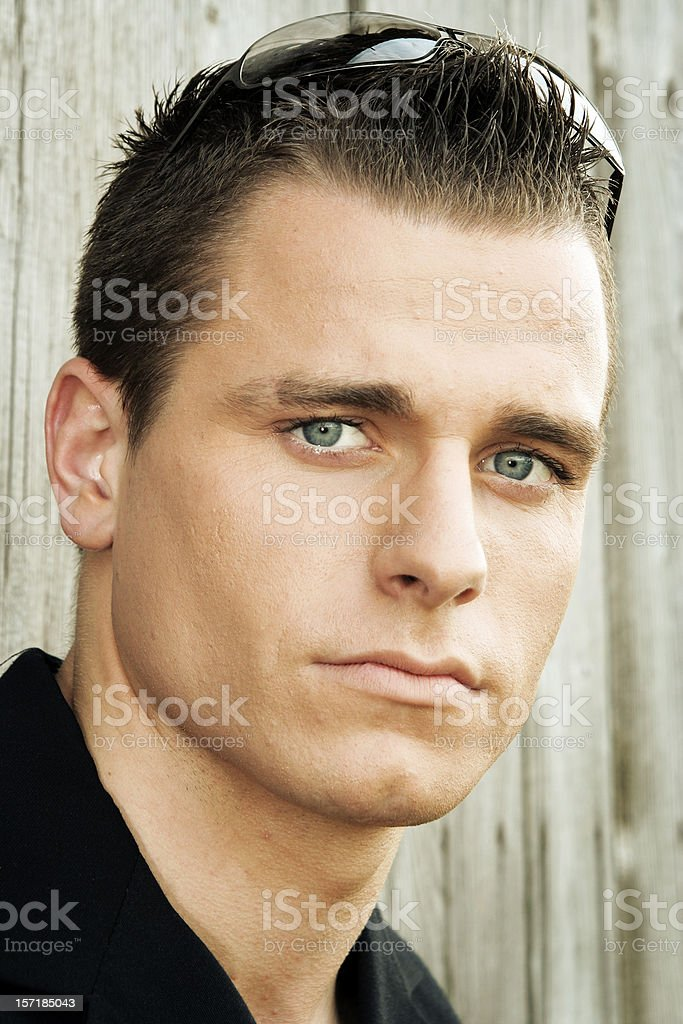 Trendy guy royalty-free stock photo