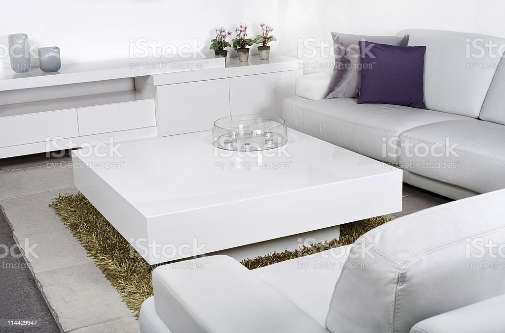 Trendy layout of modern living room royalty-free stock photo