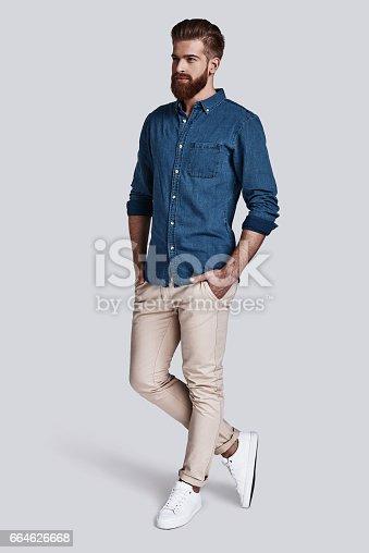 istock Trendy look. 664626668