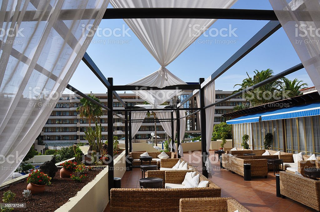 Trendy lounge royalty-free stock photo