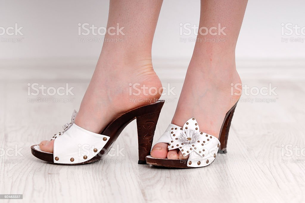 trendy shoes royalty-free stock photo