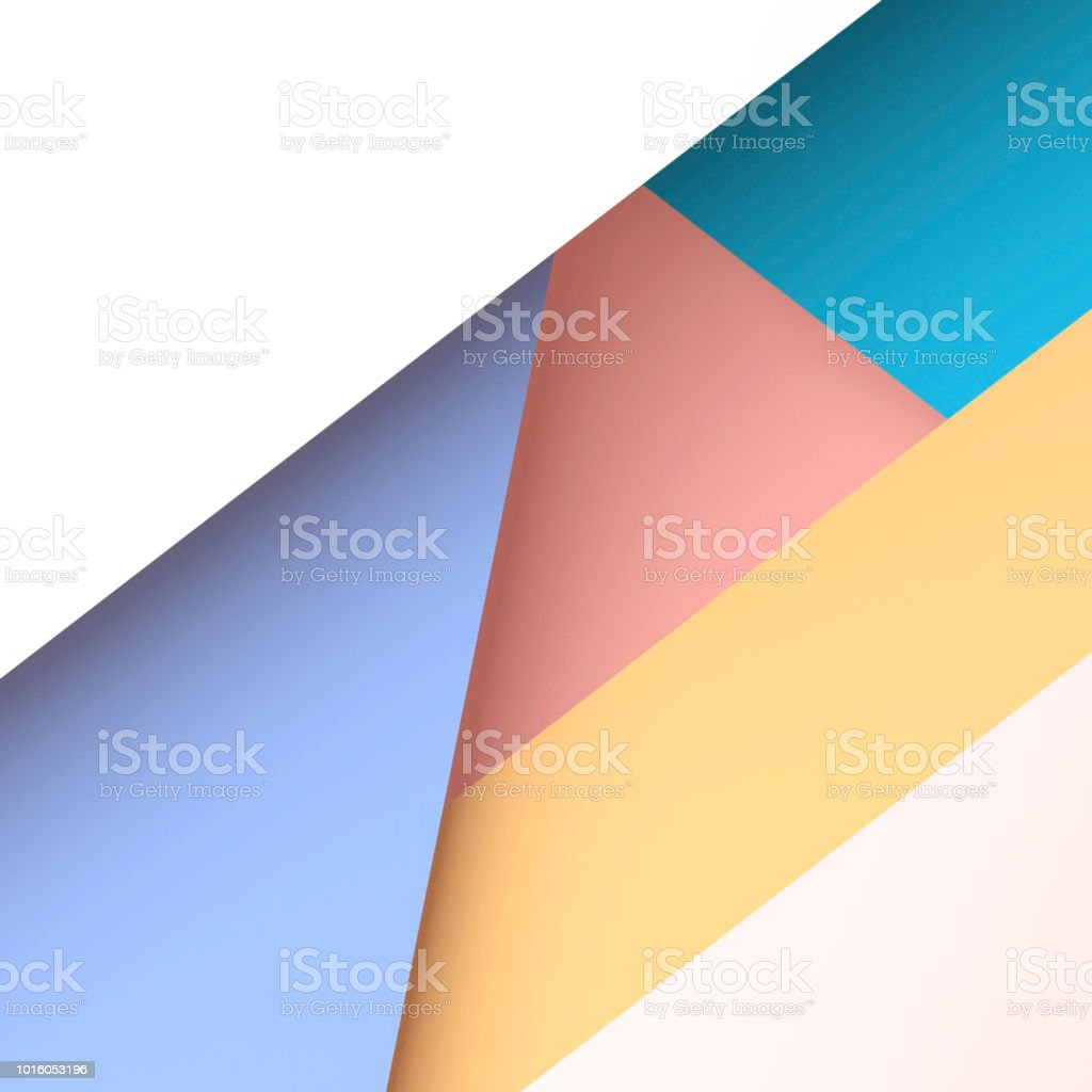 Trendy square geometric pattern. 3d render royalty-free stock photo