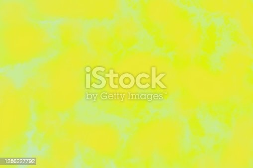 Trendy yellow green sheen patchy background, vivid background