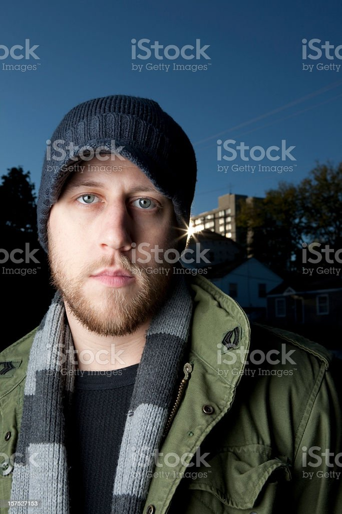 Trendy Young Man royalty-free stock photo