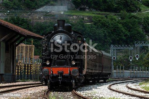 Treno a Vapore in Valsugana