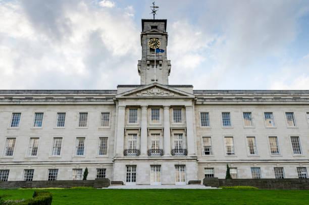 Trent Building, Nottingham University stock photo