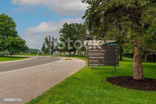 istock Trent University, Peterborough, Canada 1330932124