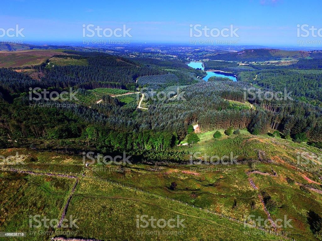 Trentabank & Ridgate Reservoirs stock photo