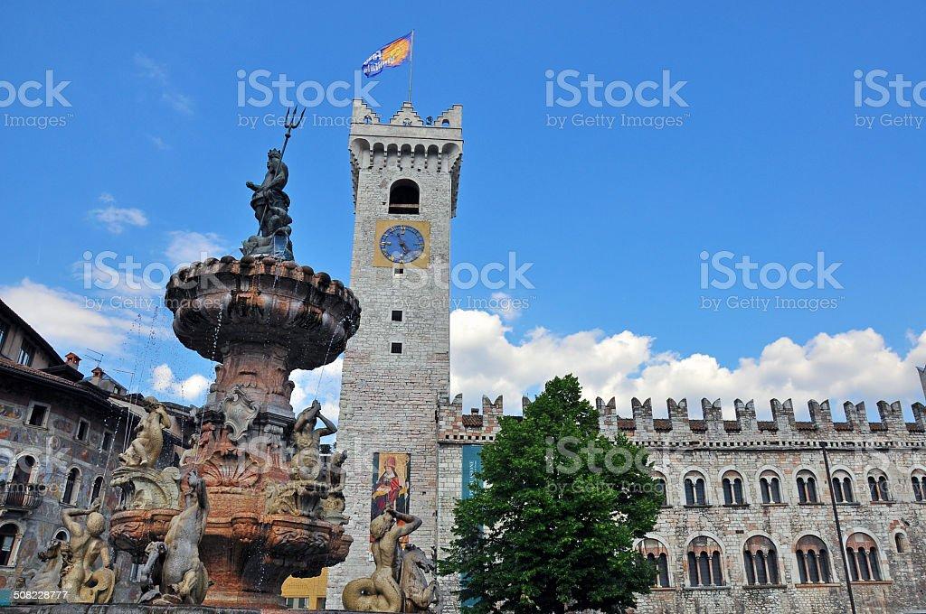 Trento, italy stock photo