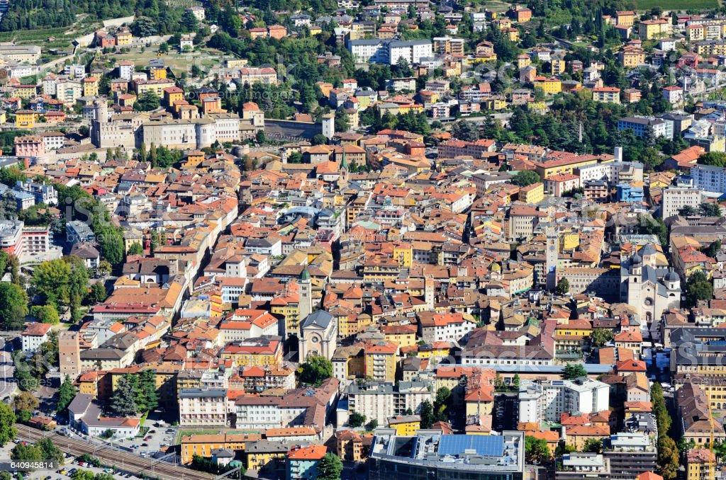 Trento Italy stock photo