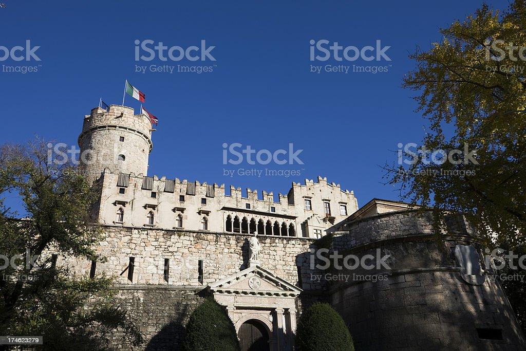 Trento Landmark Castle royalty-free stock photo