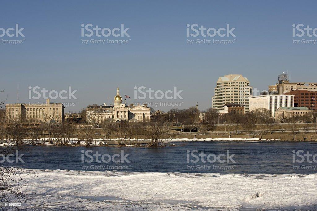 Trenton panorama royalty-free stock photo