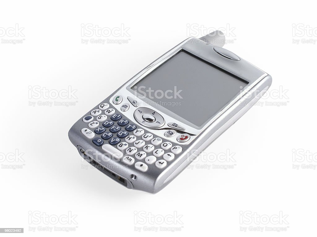 treo pda cell phone stock photo
