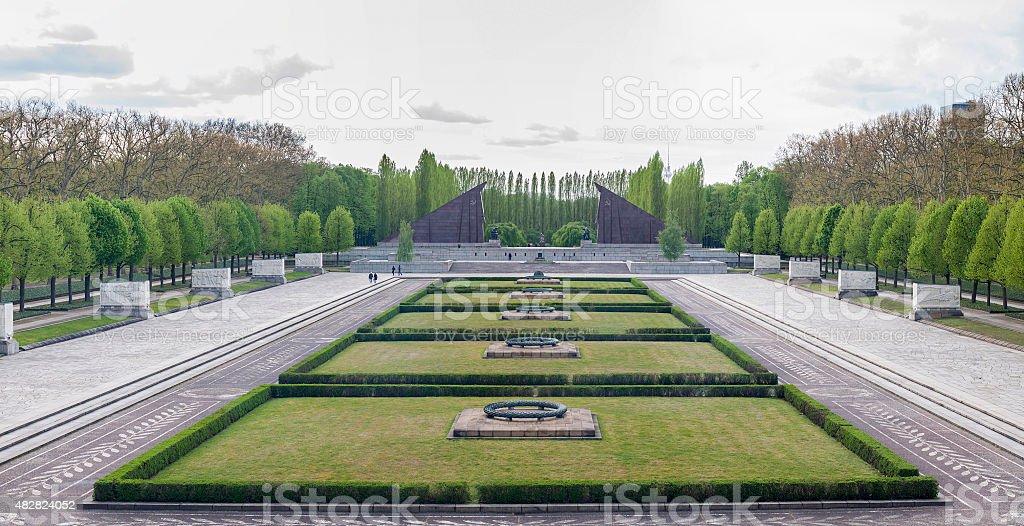 Treptower Park, Berlin stock photo
