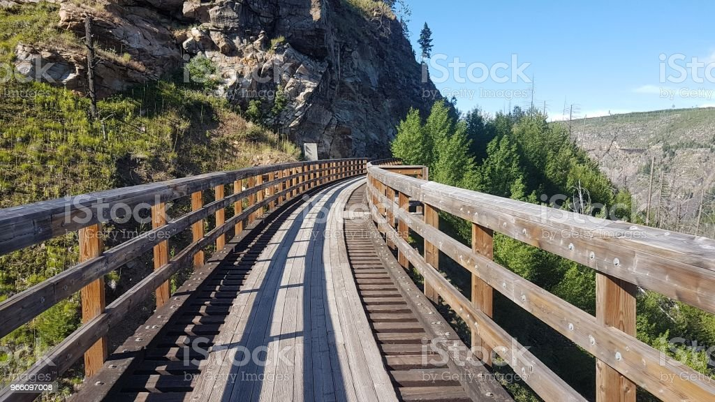 trestles in the mountains - Royalty-free Beauty In Nature Stock Photo