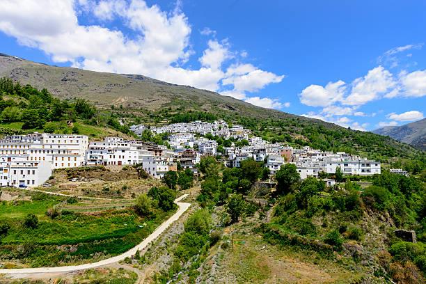 Trevelez Village stock photo