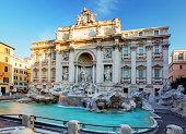 istock Trevi Fountain, rome, Italy. 485473391