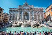 istock Trevi Fountain, Rome - Italy, 517342689
