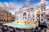 istock Trevi Fountain, rome, Italy. 583825298