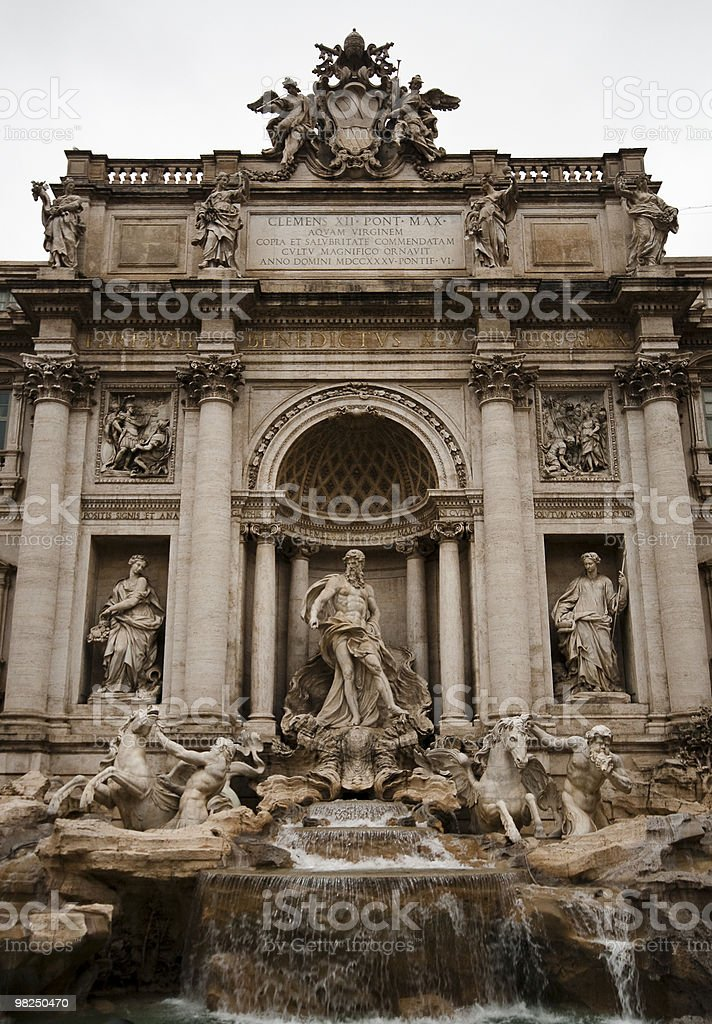 Trevi place royalty-free stock photo