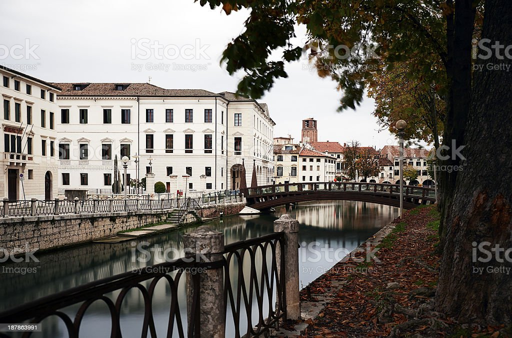 Treviso. Color Image stock photo