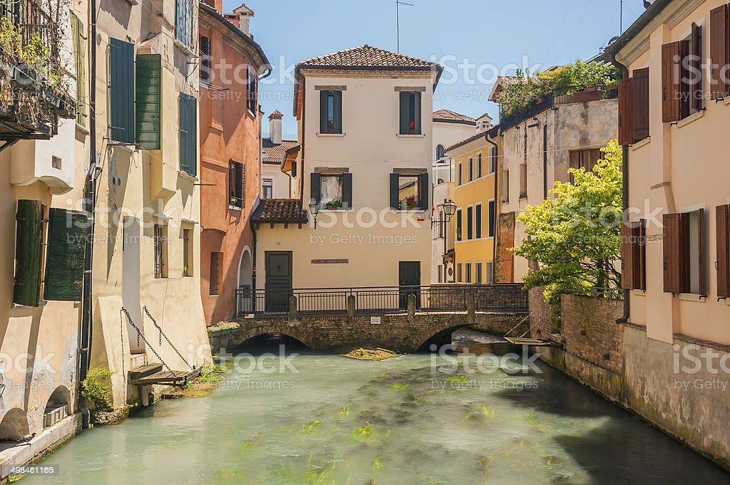 treviso italy stock photo