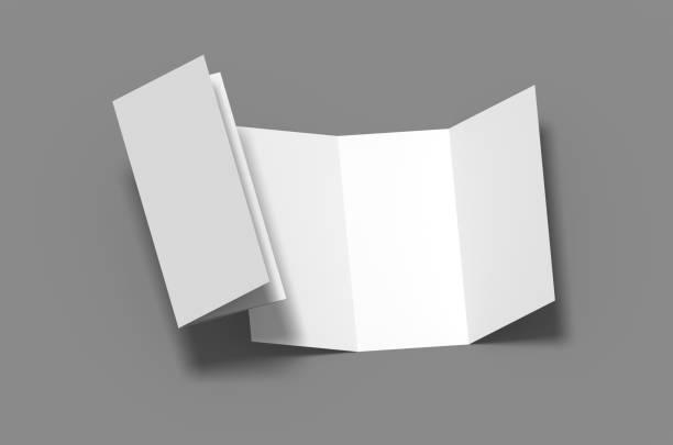 Tri fold stock photo