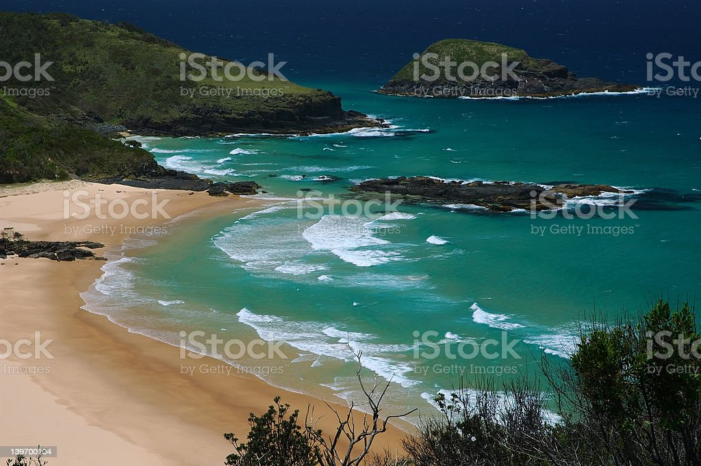 Trial Bay royalty-free stock photo