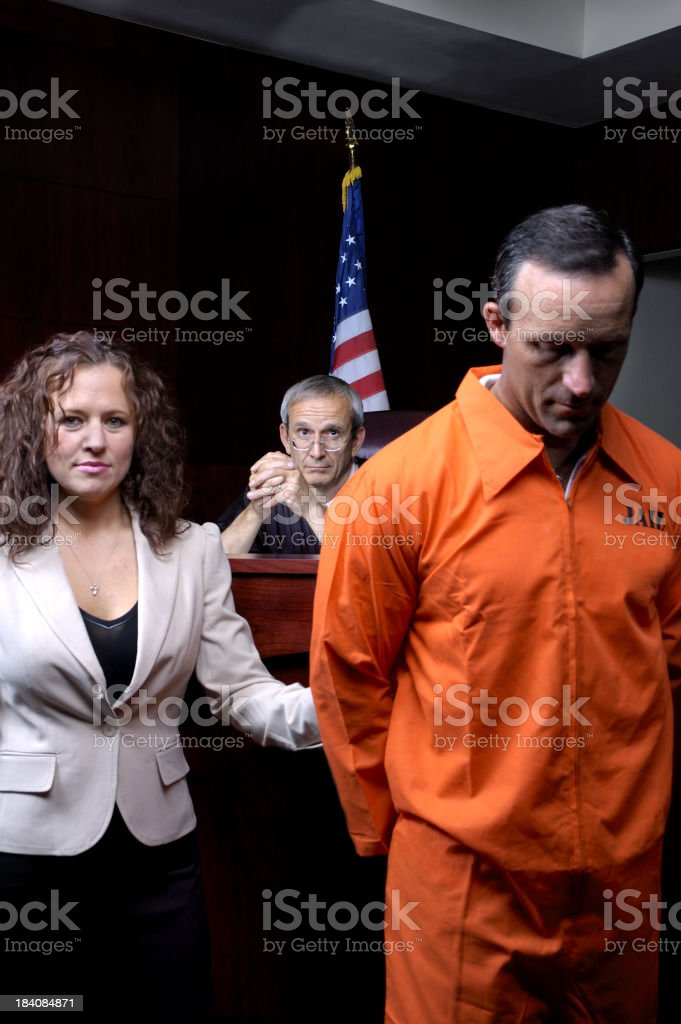 Trial Court stock photo