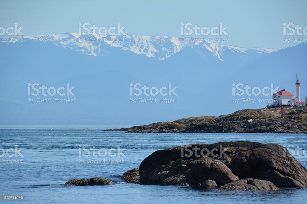 Trial Island stock photo