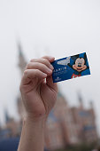 Trial operaton ticket to Shanghai Disneyland Park