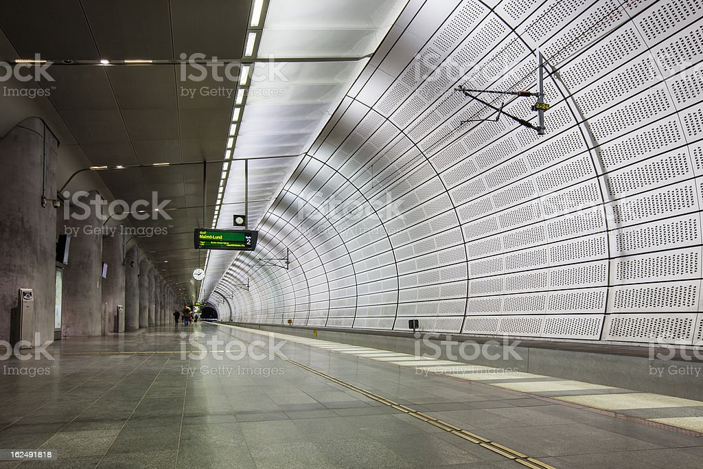 Triangeln Station royalty-free stock photo