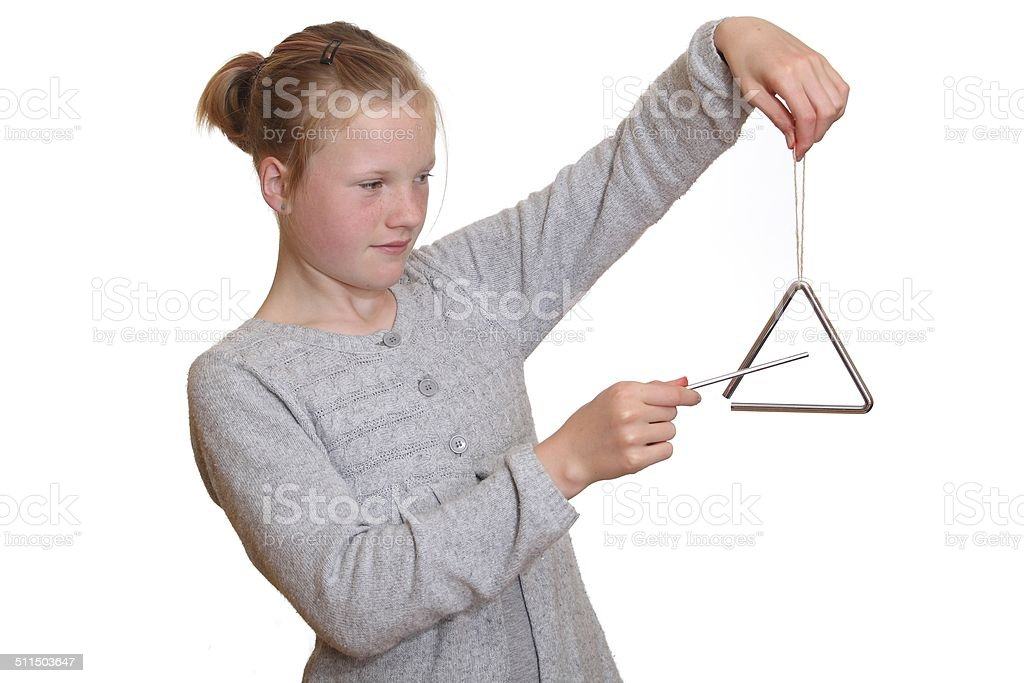 Triangle stock photo
