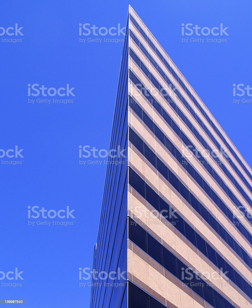 Triangle Tower royalty-free stock photo