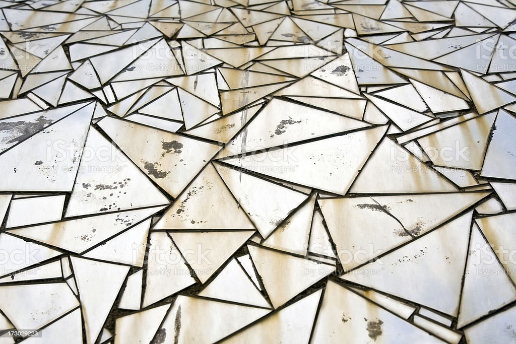 Triangles royalty-free stock photo