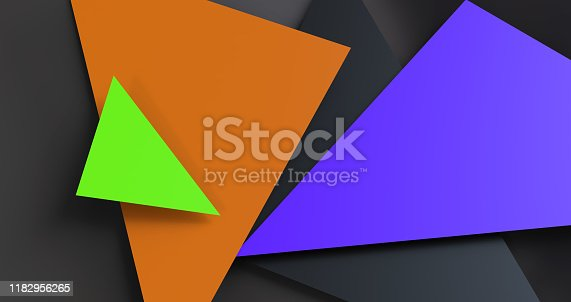 624878906 istock photo Triangular abstract background 1182956265