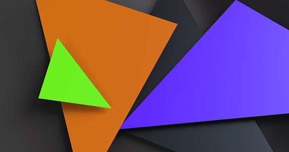 624878906 istock photo Triangular abstract background 1182956265
