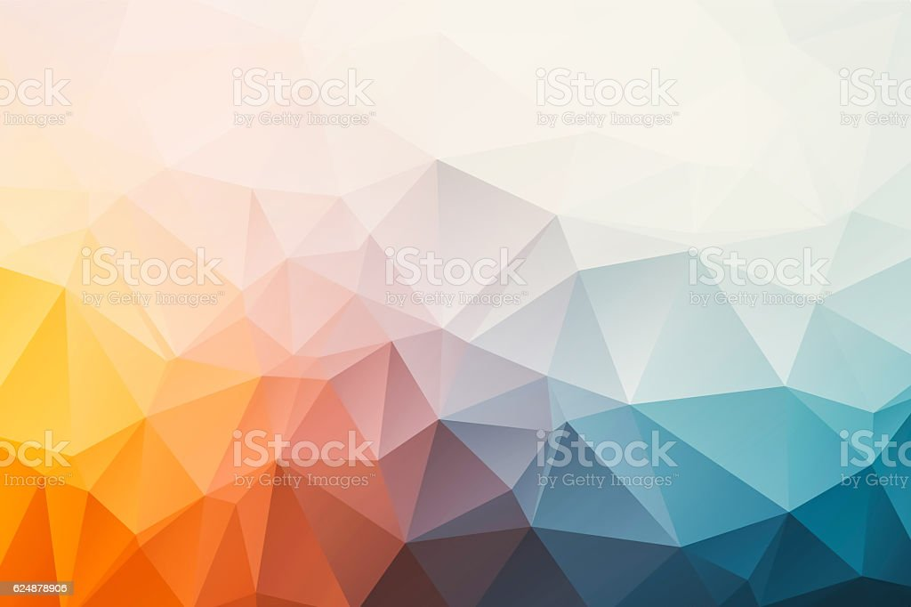 triangular abstract background - Photo