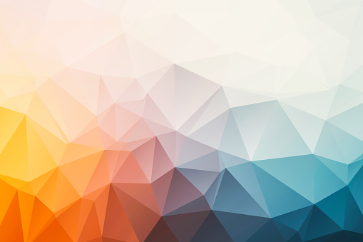 Triangular Abstract Background 照片檔及更多 Low-Poly-Modelling 照片
