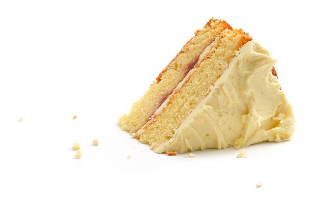 peice di torta - briciola foto e immagini stock