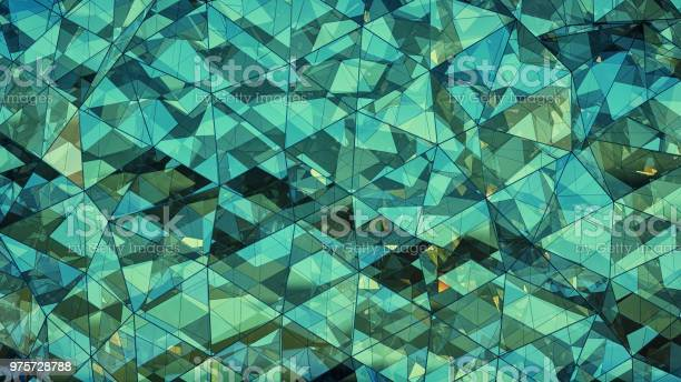 Triangulated multilayered turquoise glass construction abstract 3d picture id975728788?b=1&k=6&m=975728788&s=612x612&h=x5krkbqus8djr7oroxz2ufg7brc7dcawyhib7m2hveu=