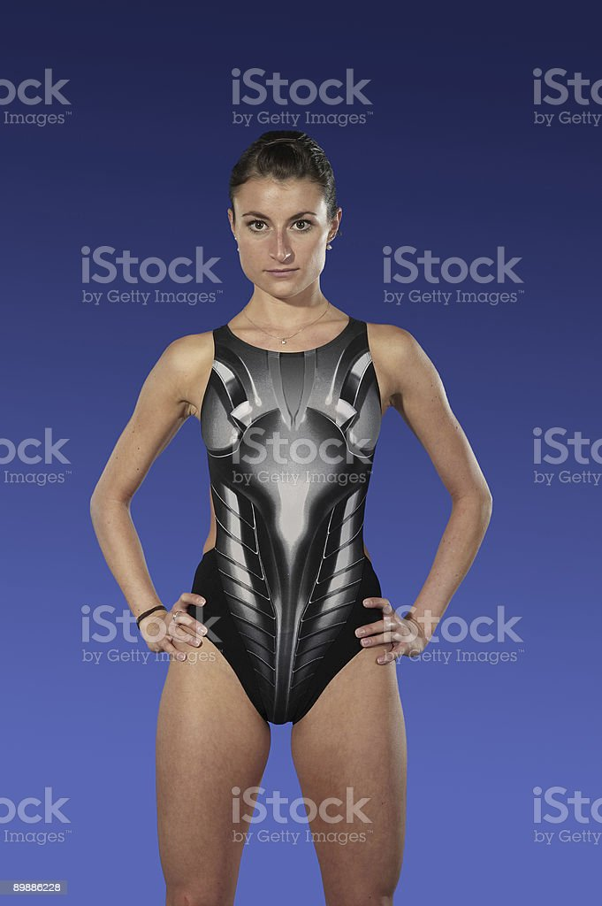 Triathlet foto stock royalty-free