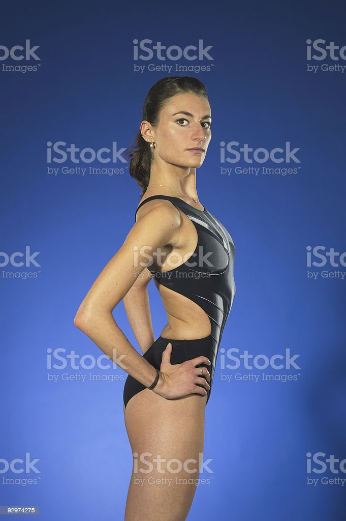 Triathlet royalty-free stock photo