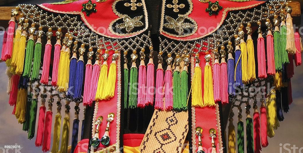 Tribal Dress royalty-free stock photo