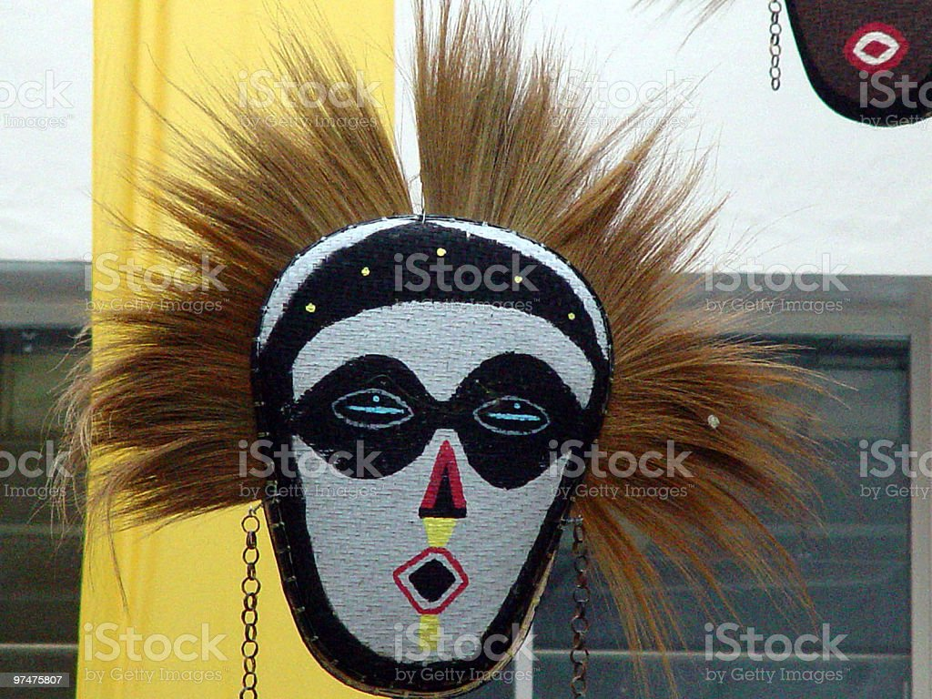 Tribal Mask royalty-free stock photo